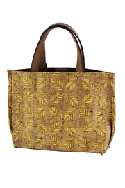 Street Level Cork Mini Tote - Front cropped