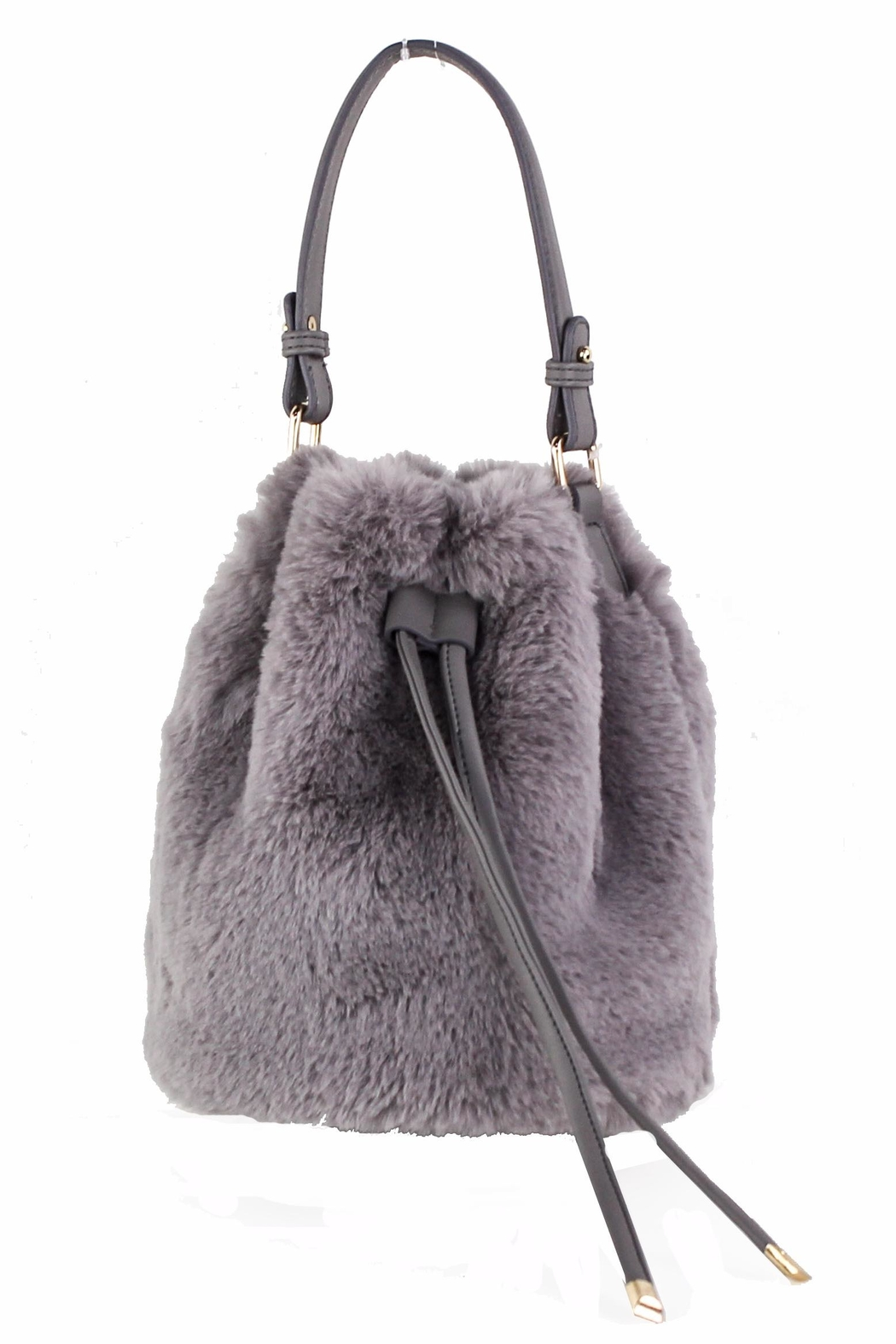 d91e0aece0 Street Level Fur Bucket Bag from New York by Dor L Dor — Shoptiques