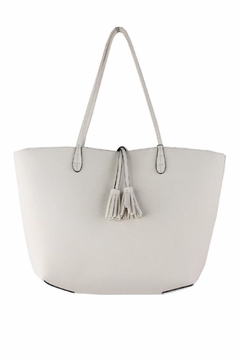 Shoptiques Product: Ivory Reversible Tote