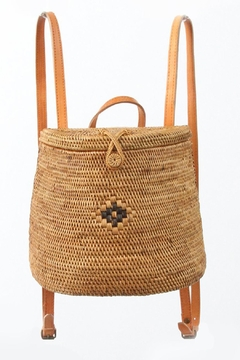 Street Level Langi Rattan Backpack - Product List Image