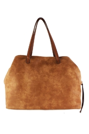 Street Level Large Tan Tote - Product Mini Image