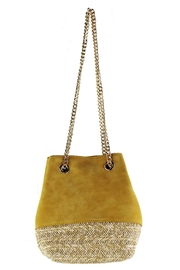 Street Level Mini Bucket Bag - Front cropped