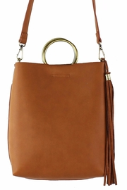Street Level Mini Handle Tote - Front cropped