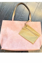 Street Level Pink Reversible Tote - Front cropped