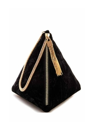 Street Level Pryramid Velvet Bag - Product Mini Image