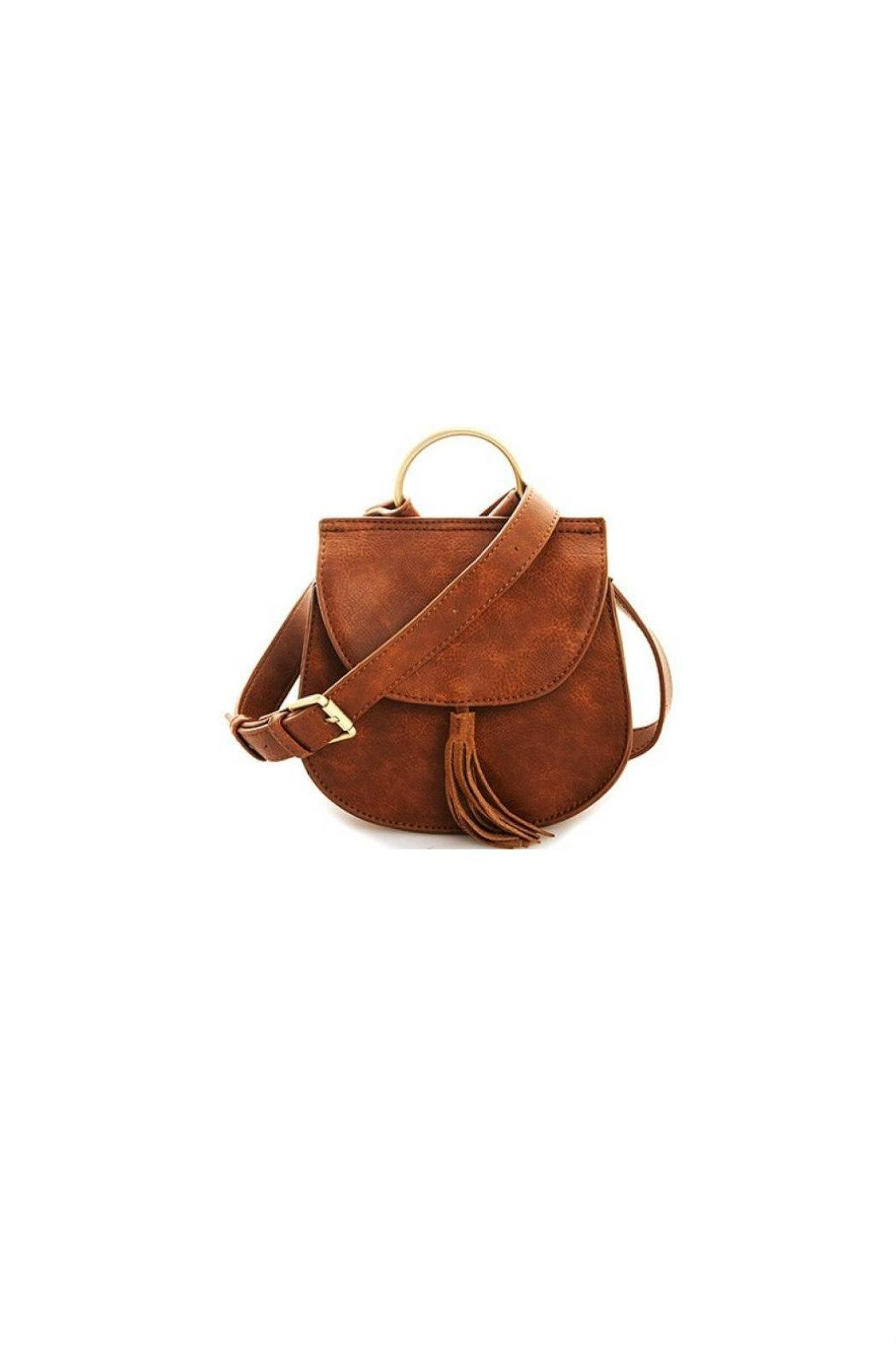Street Level Ring Handle Crossbody - Front Cropped Image
