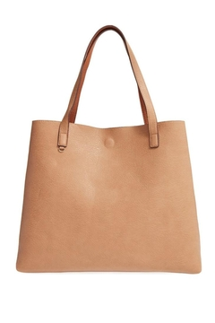 Street Level Tan Reversible Tote - Alternate List Image