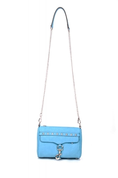 Street Level Turquoise Chain Satchel - Alternate List Image