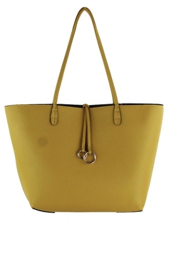 Shoptiques Product: Yellow/taupe Reversible