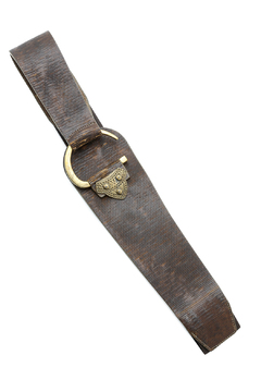 Shoptiques Product: Brass Ring Stretch Belt
