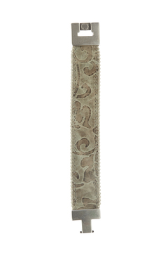 Shoptiques Product: Taupe Embossed Bracelet