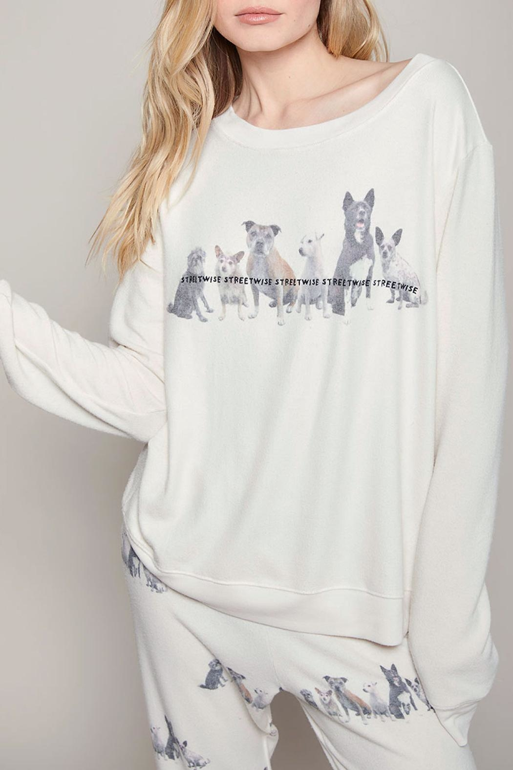 All Things Fabulous Streetwise Cozy Jumper - Front Full Image