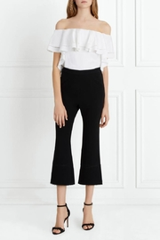 Rachel Zoe Stretch-Crepe Cropped Flare - Product Mini Image