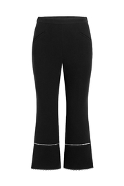 Rachel Zoe Stretch-Crepe Cropped Flare - Front cropped