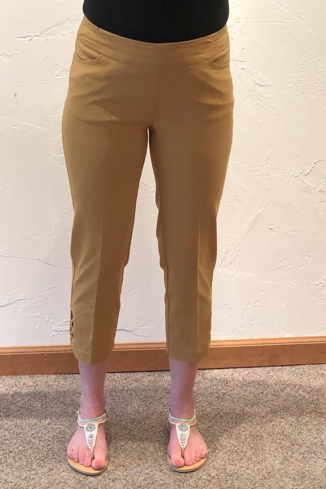 Multiples Stretch Crop Pants - Main Image