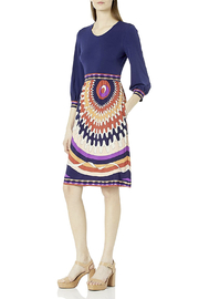 Donna Morgan Stretch Jersey Fit-n-Flare - Product Mini Image
