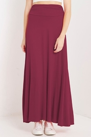 MaiTai Stretch Knit Maxi-Skirt - Front cropped