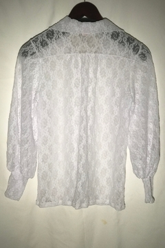 Only Hearts Stretch Lace Button Down - Alternate List Image