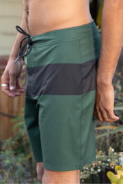 Mollusk Stretch Notched Trunks - Front cropped