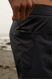 Mollusk Stretch Notched Trunks - Back cropped