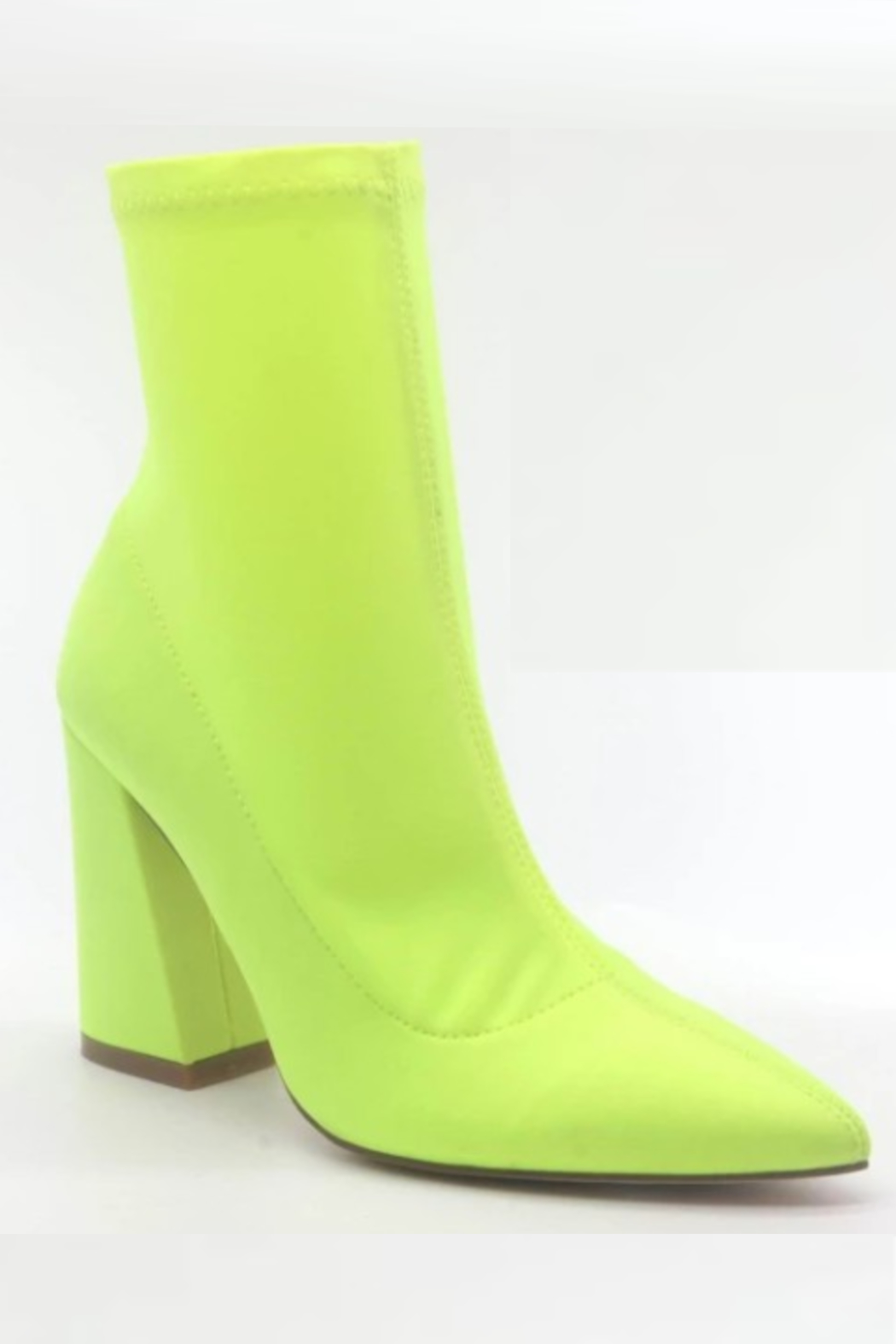Thistle & Clover  Stretch Pointy Bootie - Front Cropped Image