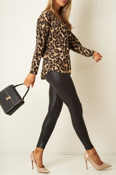 frontrow Stretch Shiny Leggings - Product List Image