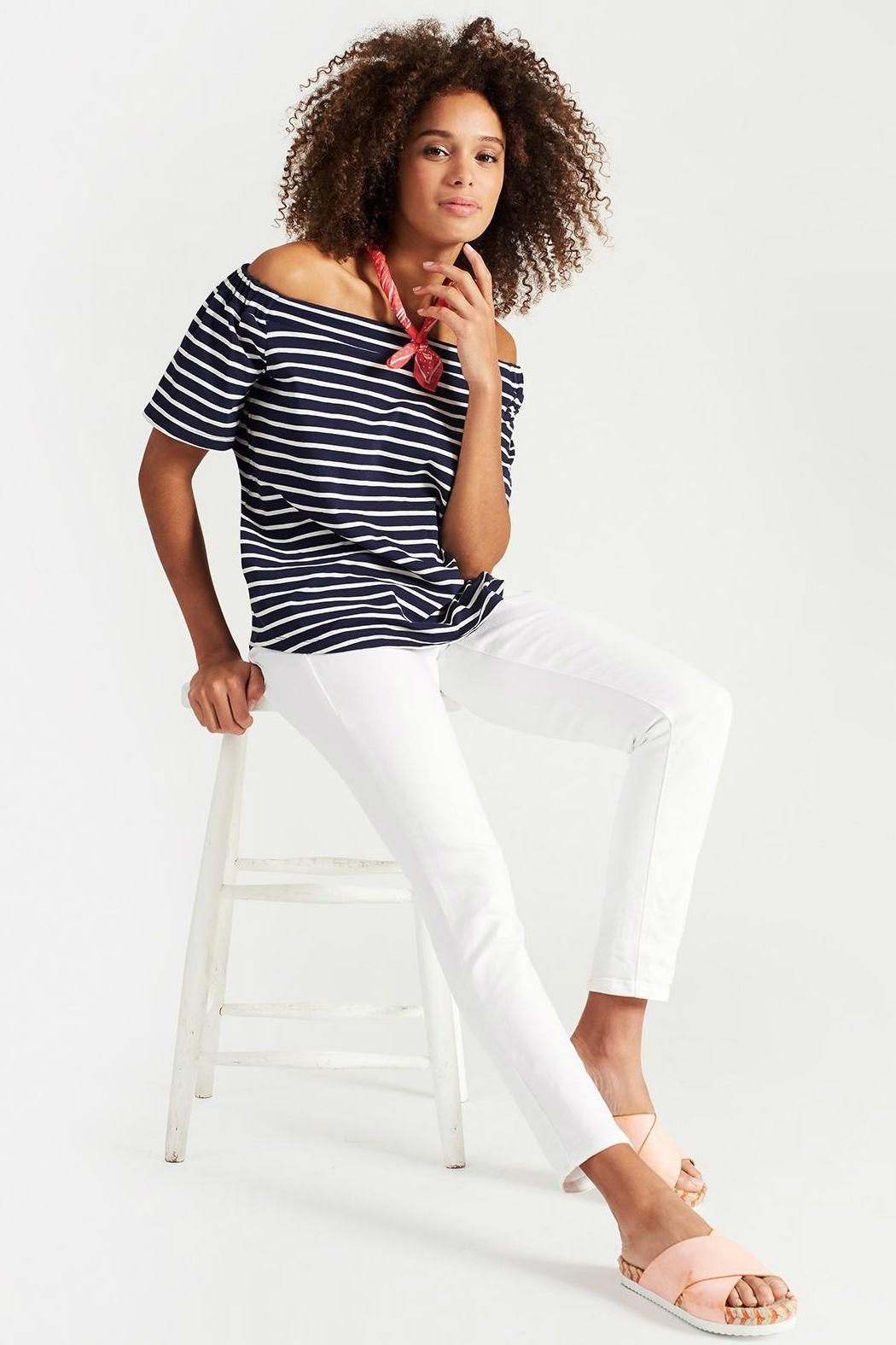 Joules Stretch Skinny Jeans - Front Full Image
