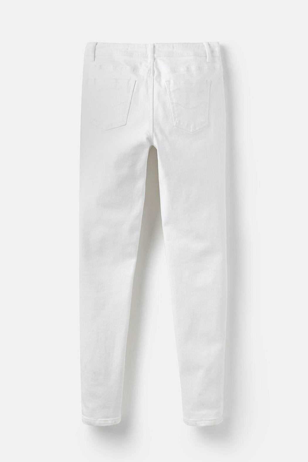 Joules Stretch Skinny Jeans - Back Cropped Image
