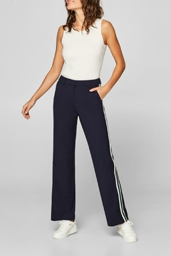Shoptiques Product: Stretch Stripe Trouser