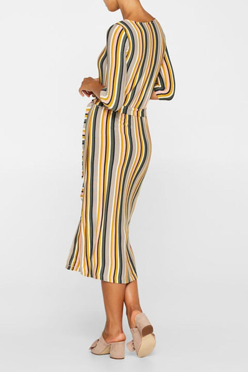 Esprit Stretch Striped Jersey - Front Full Image