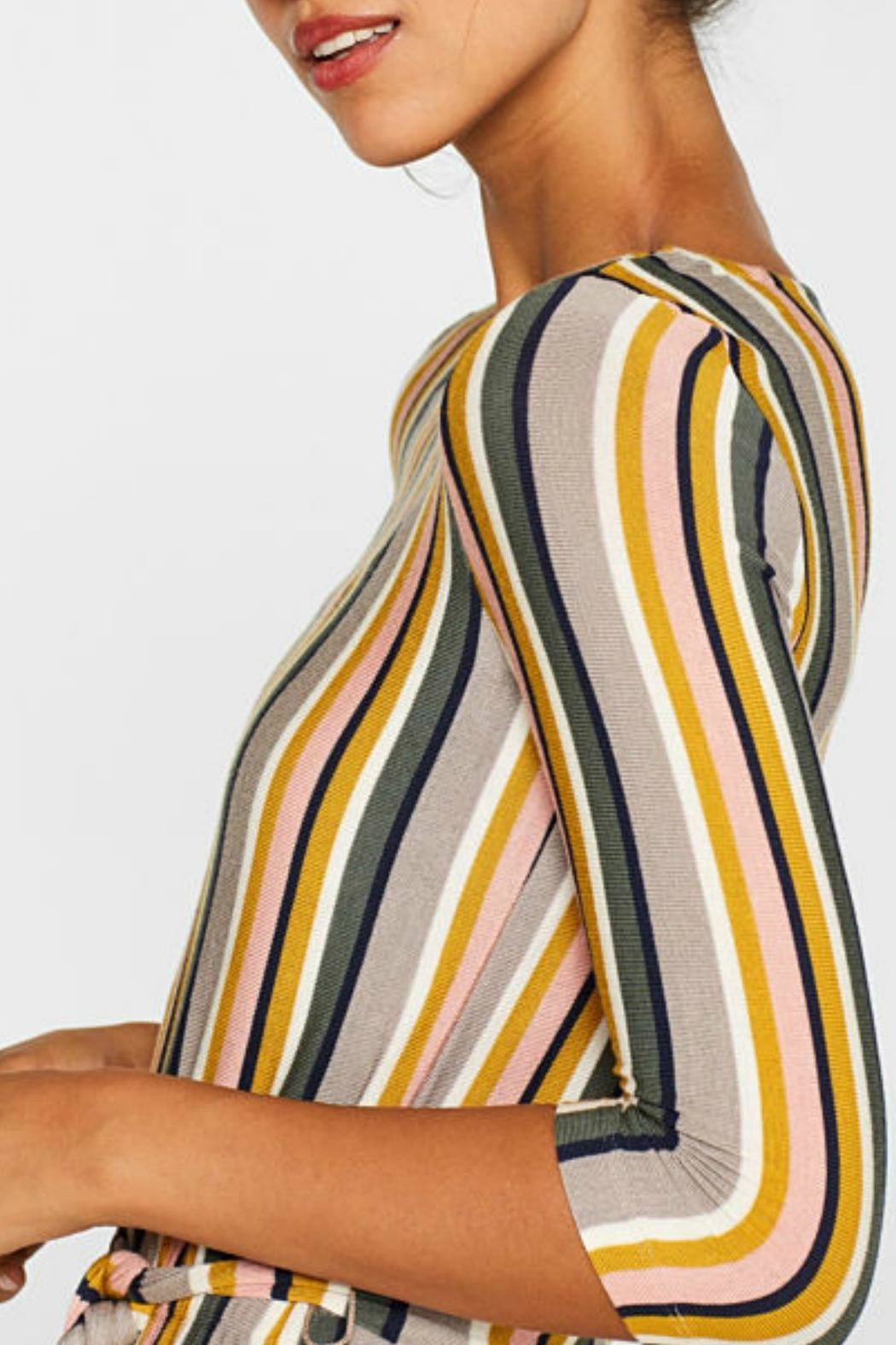 Esprit Stretch Striped Jersey - Side Cropped Image