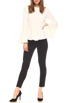 TCEC Stretch-Woven Peplum Top - Product List Image
