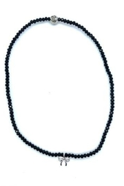 Stia Couture Stretchy Beaded Choker - Side cropped