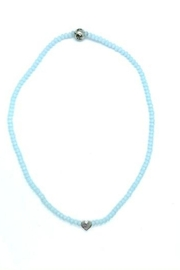 Stia Couture Stretchy Beaded Choker - Front full body