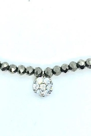 Stia Couture Stretchy Beaded Choker - Front cropped