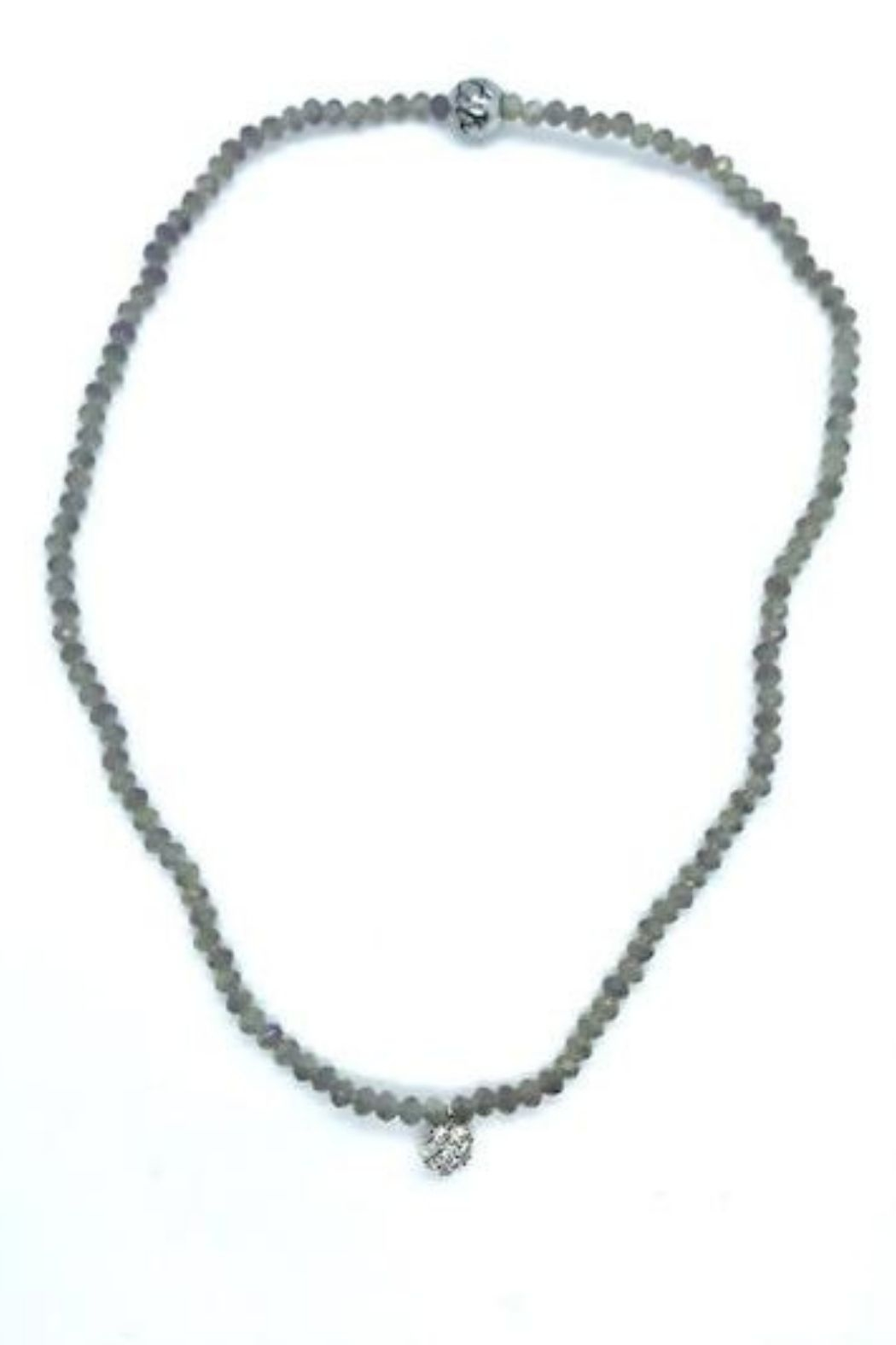 Stia Couture Stretchy Beaded Choker - Front Full Image