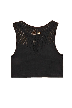 Yahada Stretchy Crop Top - Product List Image