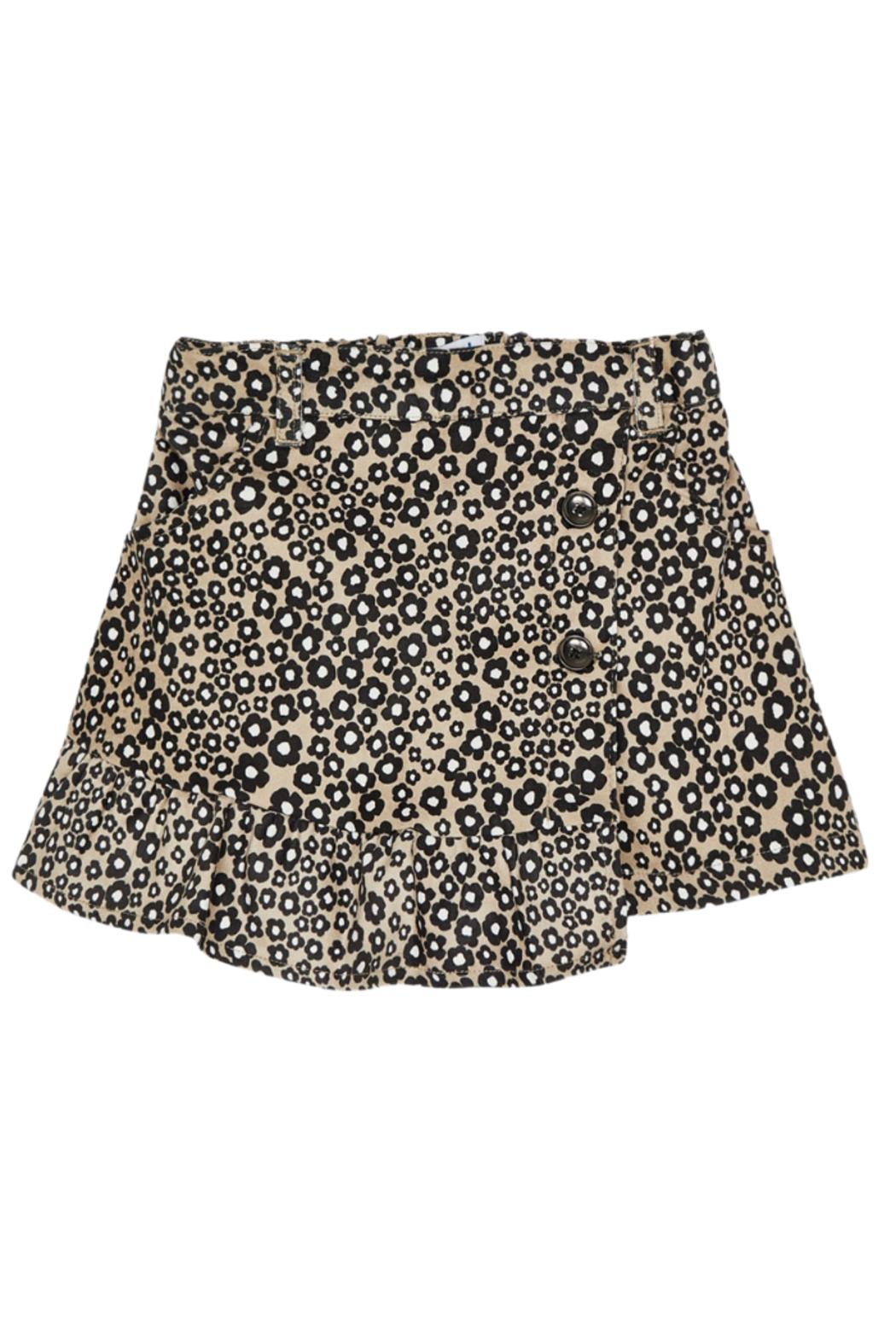 Mayoral Stretchy Jungle Suede Skirt - Main Image