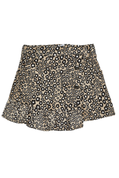 Mayoral Stretchy Jungle Suede Skirt - Product List Image