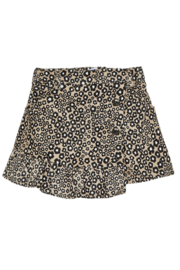 Mayoral Stretchy Jungle Suede Skirt - Front cropped