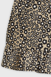 Mayoral Stretchy Jungle Suede Skirt - Back cropped