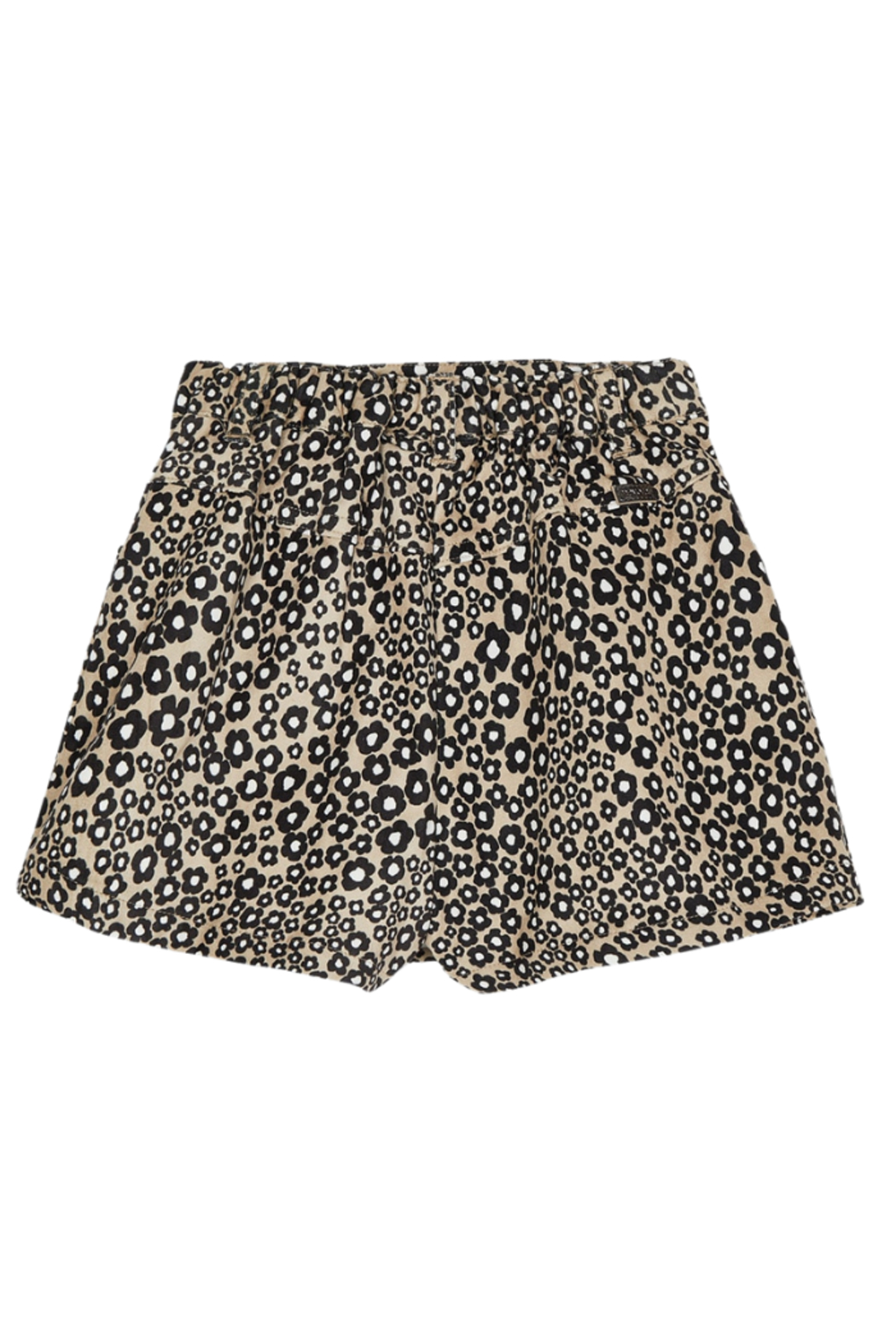 Mayoral Stretchy Jungle Suede Skirt - Front Full Image