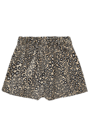 Mayoral Stretchy Jungle Suede Skirt - Front full body