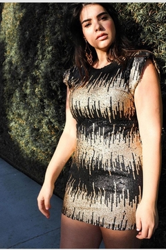 L'atiste Stretchy Sequin Dress - Product List Image