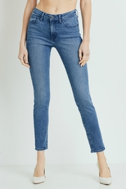 just black Stretchy Skinny - Front cropped