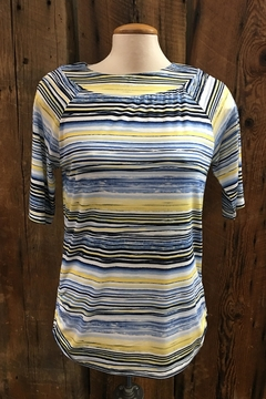FDJ French Dressing Striated Stripe Top - Product List Image
