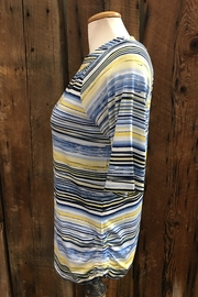 FDJ French Dressing Striated Stripe Top - Front full body