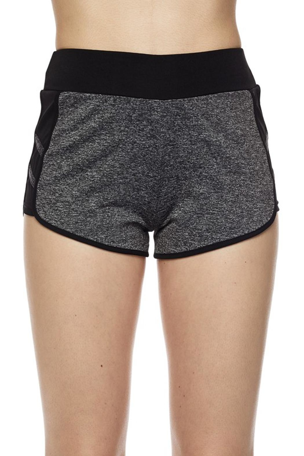 New Mix Striipe Athletic Short - Front Cropped Image