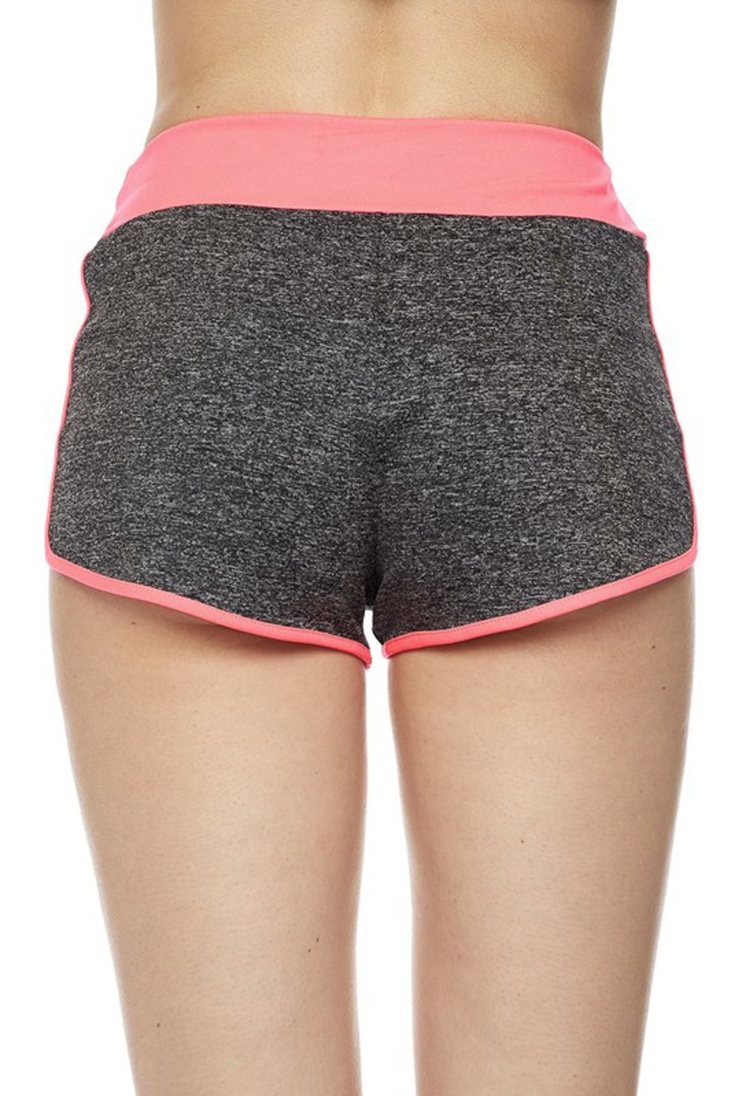 New Mix Striipe Athletic Short - Side Cropped Image