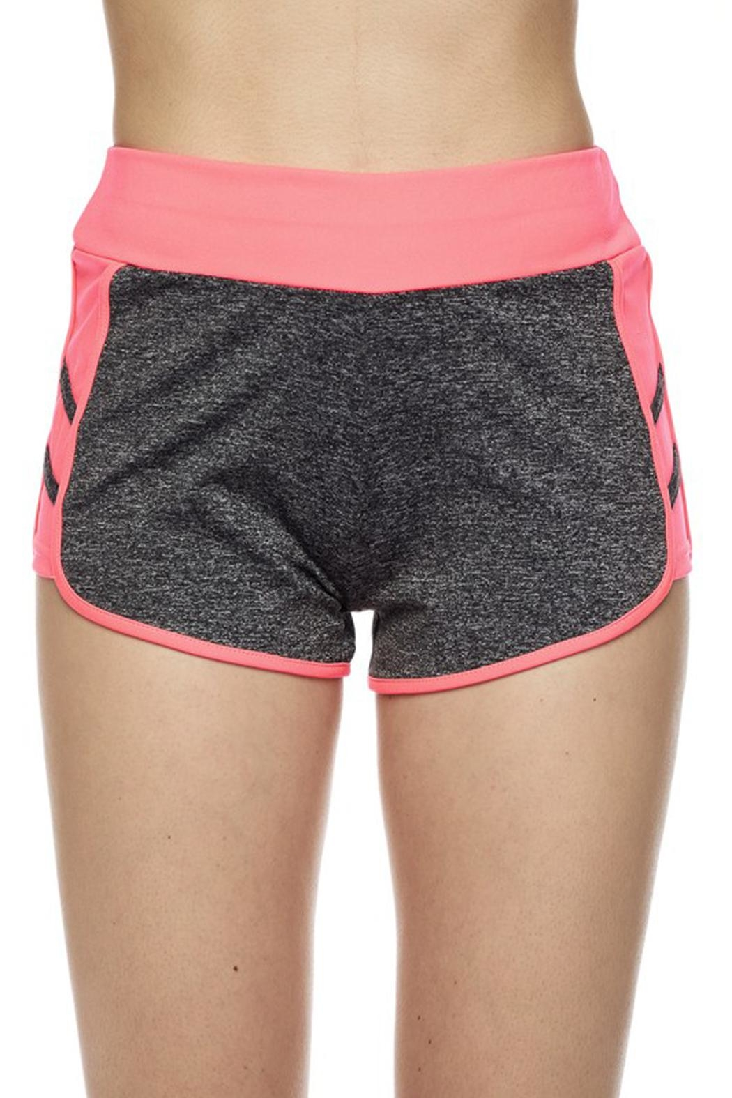 New Mix Striipe Athletic Short - Front Full Image